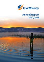 GWMWater AR 2018 Front Cover Web Version