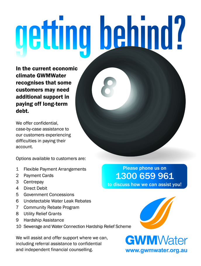 Get help to pay your water bill - GWMWater
